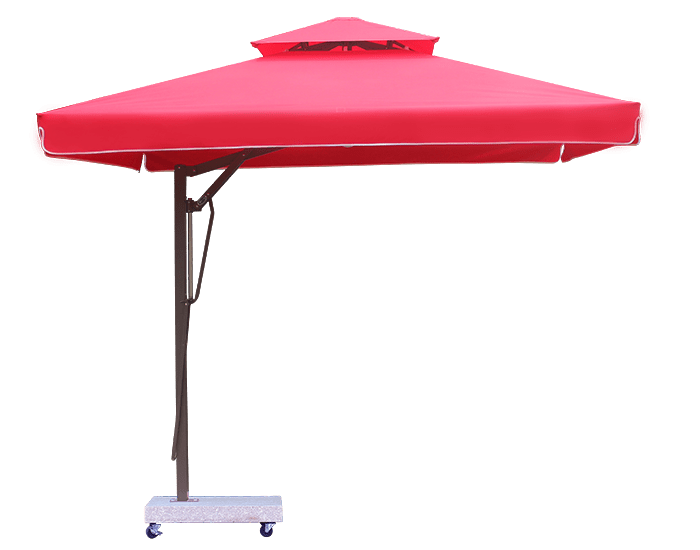 Dù lệch tâm vuông hai tầng (3m) – Dù che nắng mưa