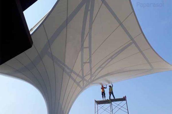 CÁC CHẤT LIỆU BẠT CĂNG CAO CẤP NHẬP KHẨU – PVDF, PTFE, ETFE, PVC, TEFLON